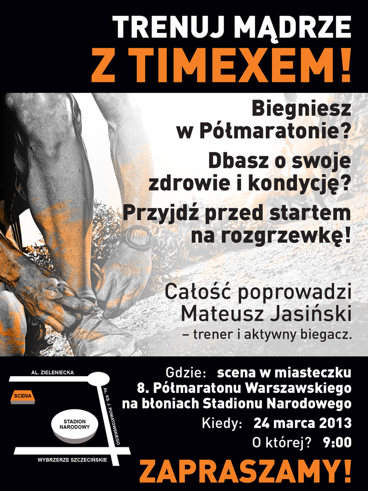 Timex _Półmaraton_Warszawski_zaproszenie