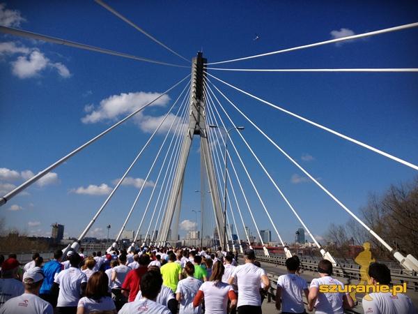 początek biegu - Most Świętokrzyski